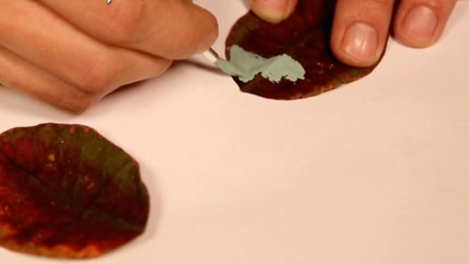 DIY – Tableau-feuilles
