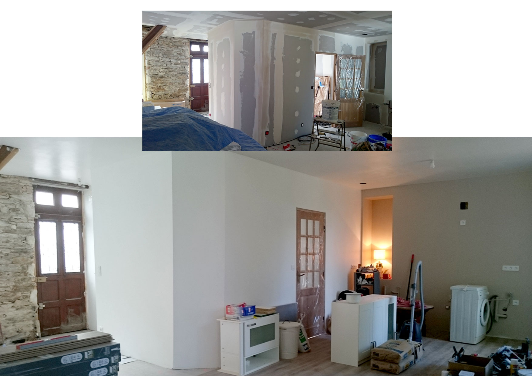 Rénovation maison individuelle