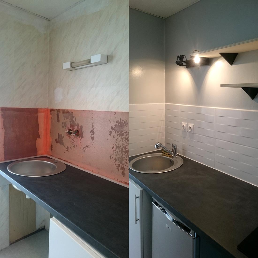 Rénovation complète Studio 20m2