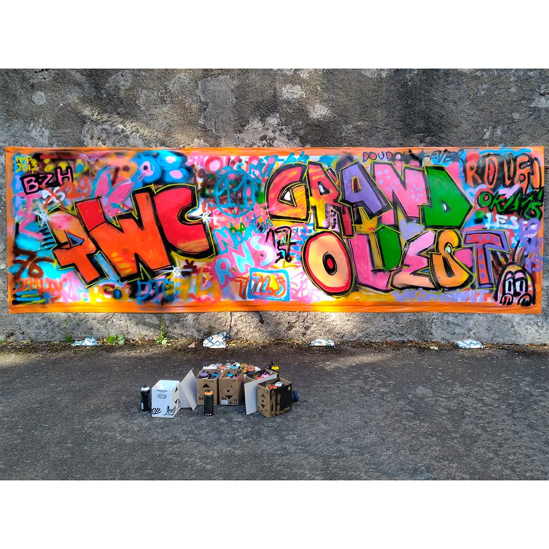 Initiation au Graffiti – Pop in the City