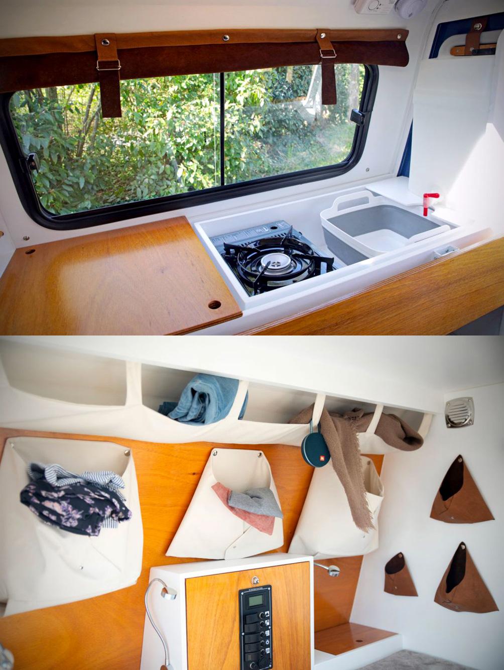 «Carapate» la mini-caravane